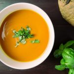 Sweet Potato and Chickpeas Soup